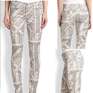 Seven for all Mankind Jeans 25 printed Inseam 29